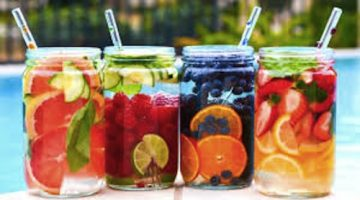 Fruity water